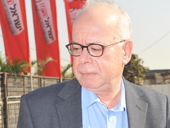 """עמוס רגב, עורך """"ישראל היום"""" / צלם: תמר מצפי"""